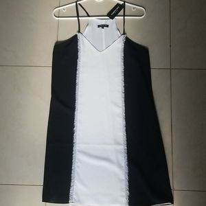 Kenneth Cole Black & White Dress